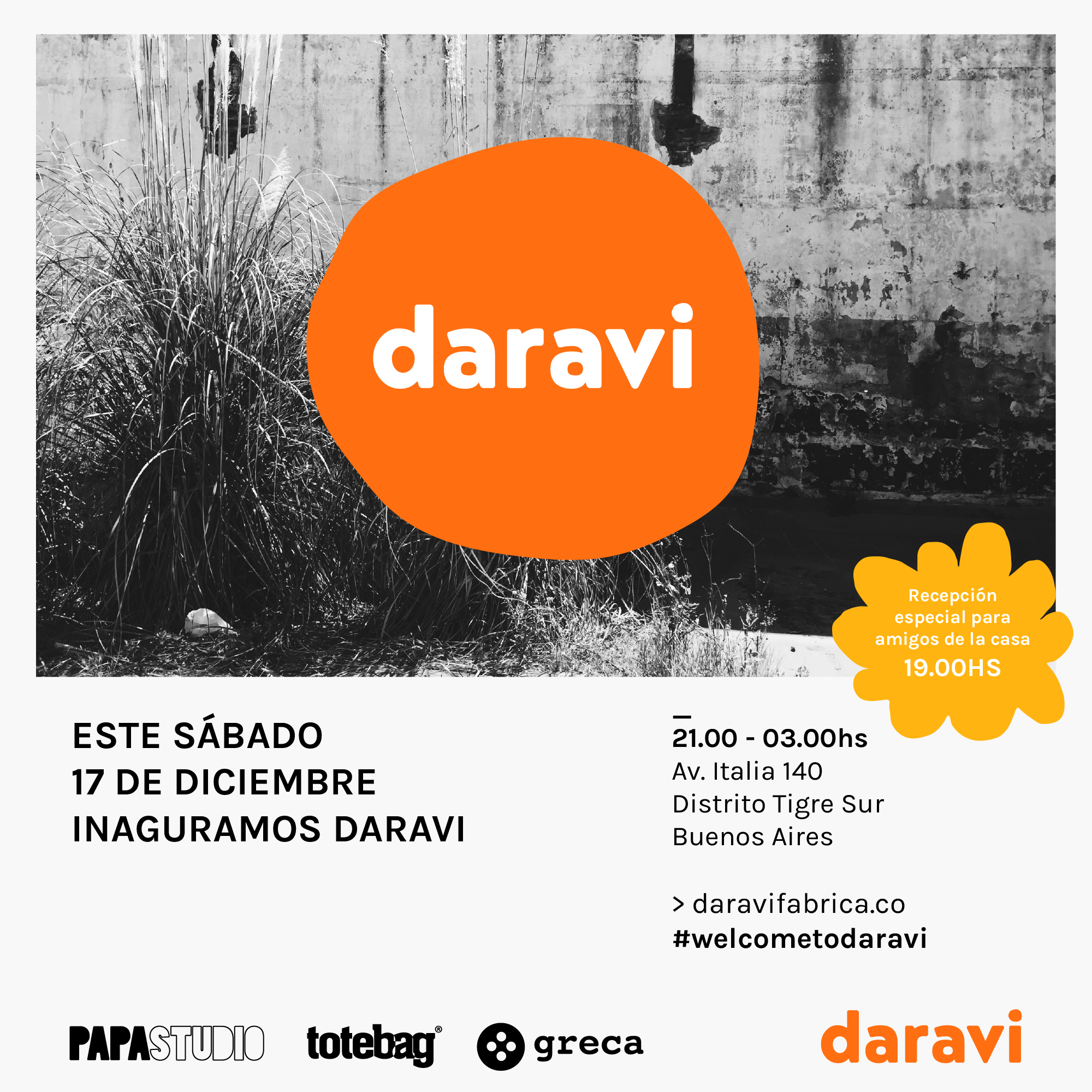 flyer-daravi-welcome-amigos